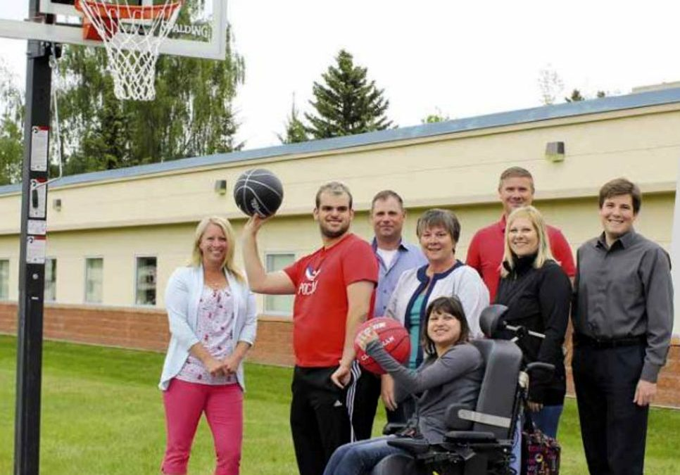 Camrose Association for Community Living Basketball Court