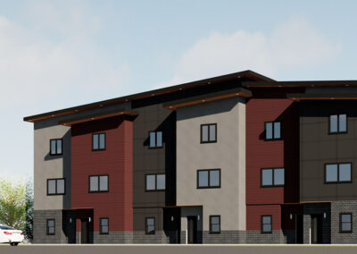 Townhomes Render