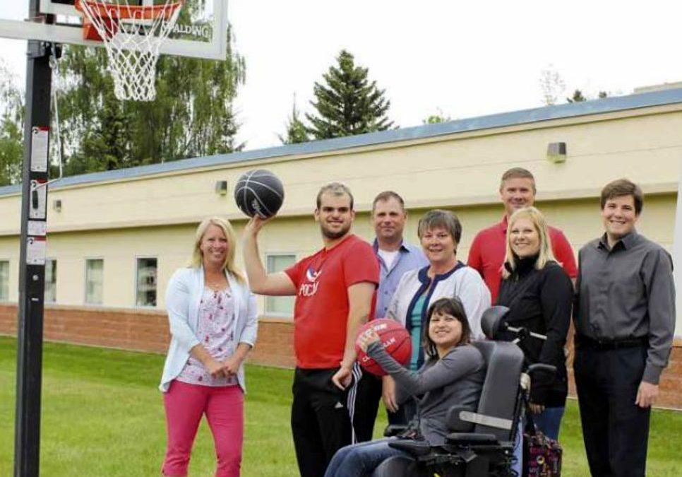 Camrose Association for Community Living Basketball Court